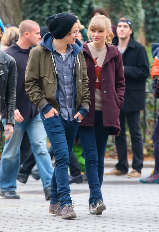 Taylor Swift i Harry Style na spacerze w Central Parku (FOTO