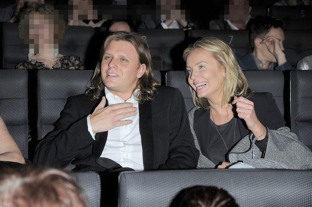 Agnieszka Szulim i Piotr Starak na premierze filmu (FOTO)