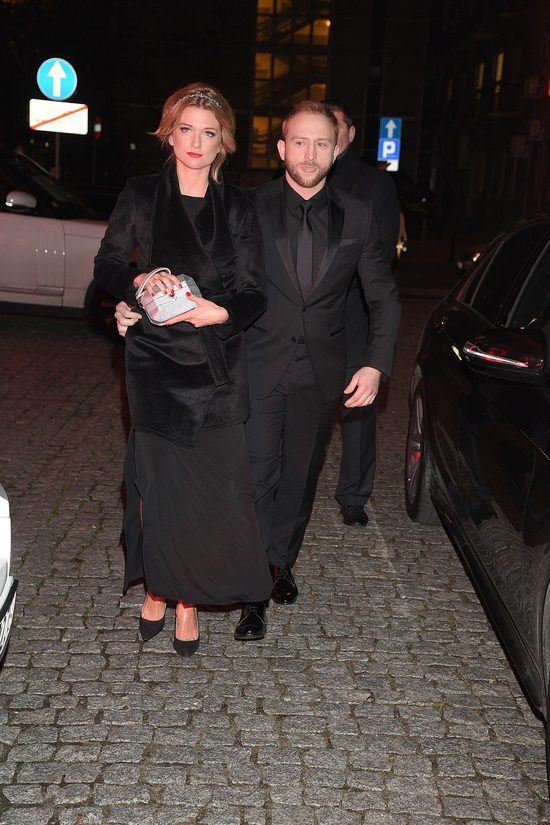 Borys Szyc i Justyna Jeger Nagłowska na Różach Gali (FOTO)