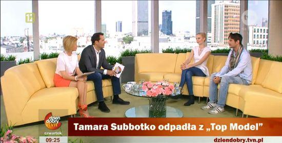 Tamara Subbotko z Top Model ma fatalny styl