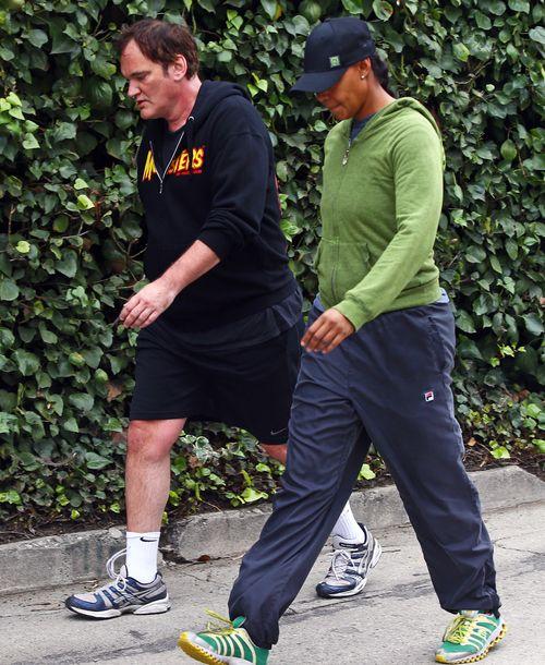 Quentin Tarantino próbuje zrzucić zbędne kilogramy (FOTO)