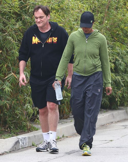 Quentin Tarantino pr�buje zrzuci� zb�dne kilogramy (FOTO)