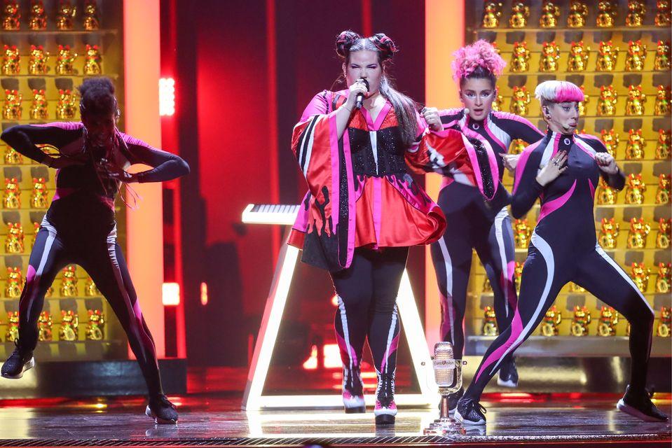 Nie wszystkim podobała się piosenka, która wygrała Eurowizję (ZDJĘCIA)