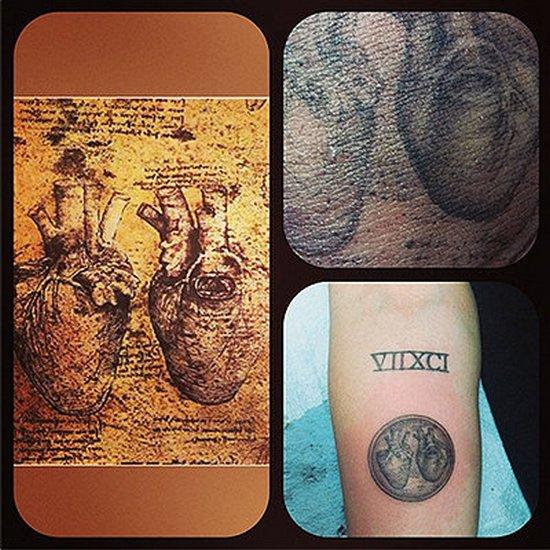Miley Cyrus zrobiła nowy tatuaż