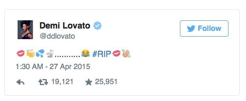 Tatuażystka Demi Lovato: Obszc*ałaś mi toaletę!