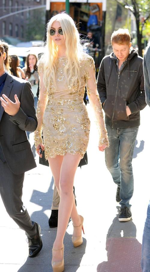 Taylor Momsen powróciła na plan Plotkary (FOTO)