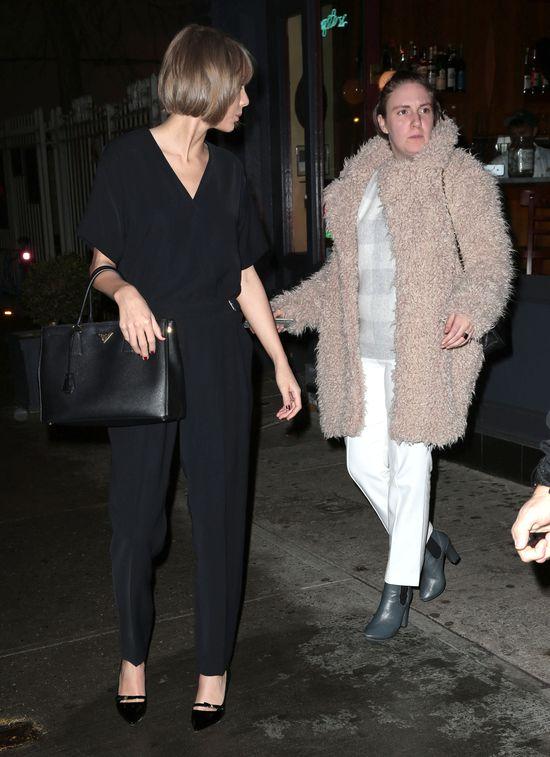 Lena Dunham i Taylor Swift niczym piękna i bestia?