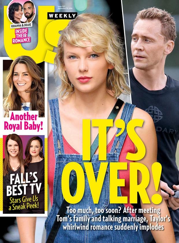 Taylor Swift i Tom Hiddleston ROZSTALI SIĘ!