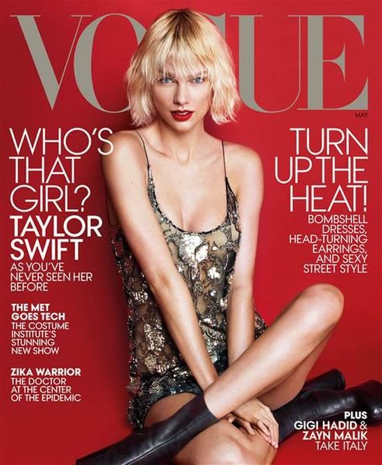 Gdy Taylor Swift zobaczy�a T� ok�adk�, chcia�a spali� si� ze wstydu