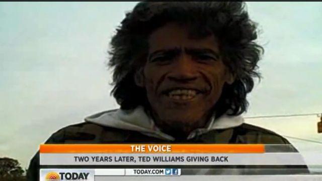 Pamietacie Teda Williamsa - m�czyzn� z radiowym g�osem?
