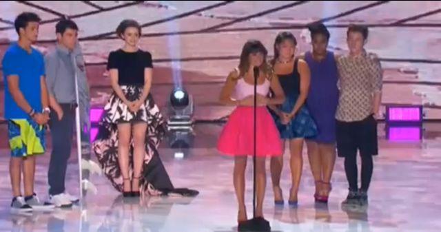 Lea Michele na Teen Choise Awards (VIDEO)