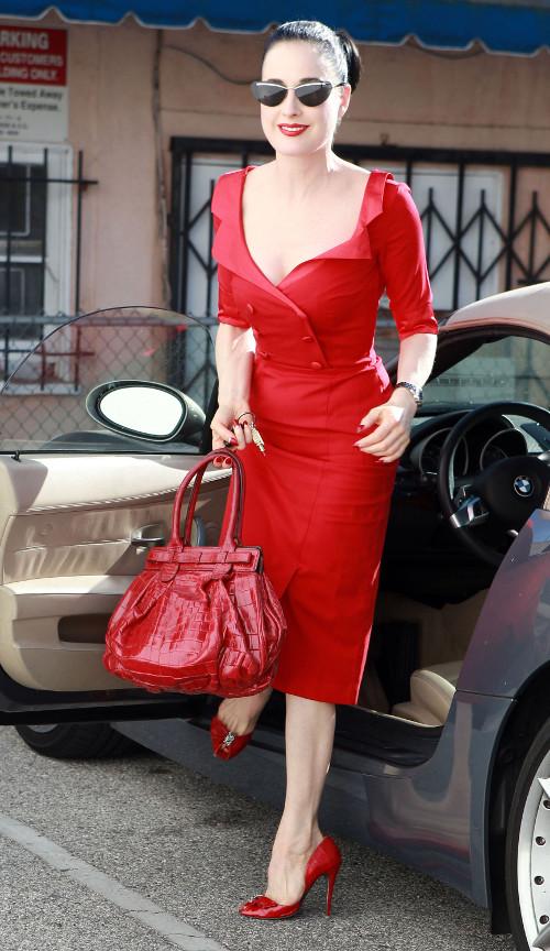 Dita von Teese sko�czy�a 40 lat! (FOTO)