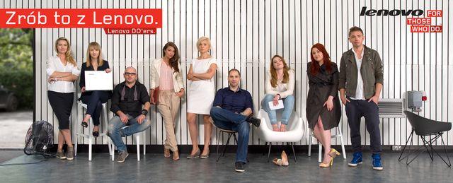 Lenovo – artyści o produktach mobilnych!