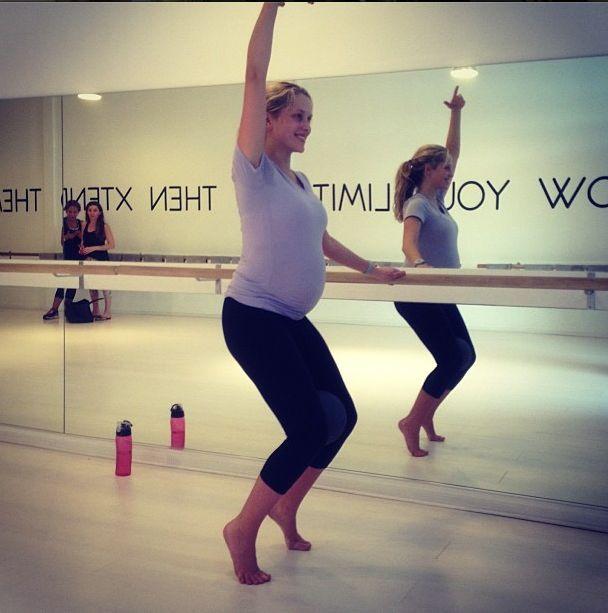 Ta gwiazda uwielbia ćwiczyć w zaawansowanej ciąży (FOTO)