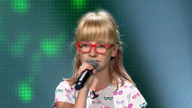Zuzia Janik z The Voice Kids zszokowała Edytę Górniak (VIDEO)