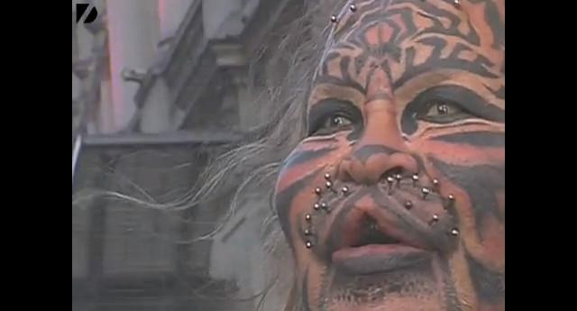 Człowiek tygrys popełnił samobójstwo (VIDEO)