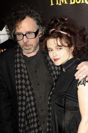Gołąbeczki – Tim Burton i Helena Bonham Carter (FOTO)