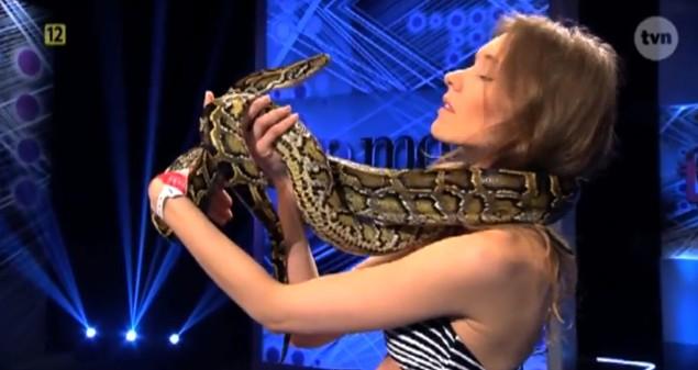 W dzisiejszym Top Model będą pająki i węże (FOTO)