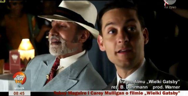 Tobey Maguire w wywiadzie o Wielkim Gatsby'm(WIDEO)