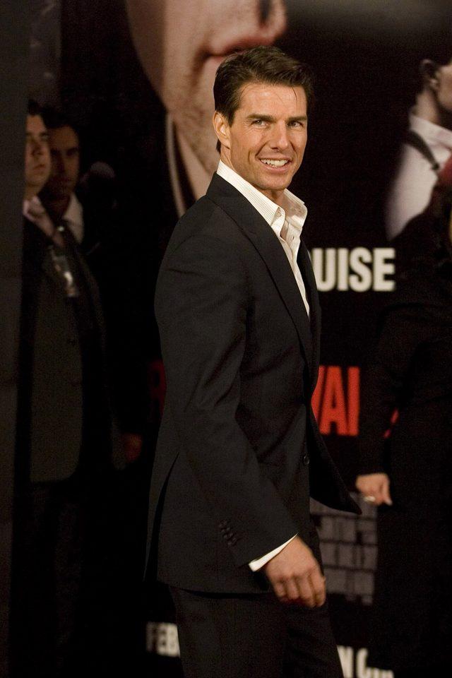 Tom Cruise straszy bardziej niż niedźwiedź w Zjawie (FOTO)