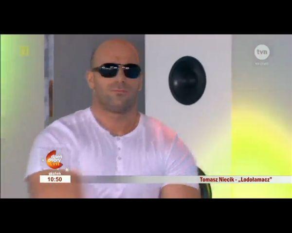 Będzie hit wakacyjnych grillów? Tomasz Niecik i Lodołamacz