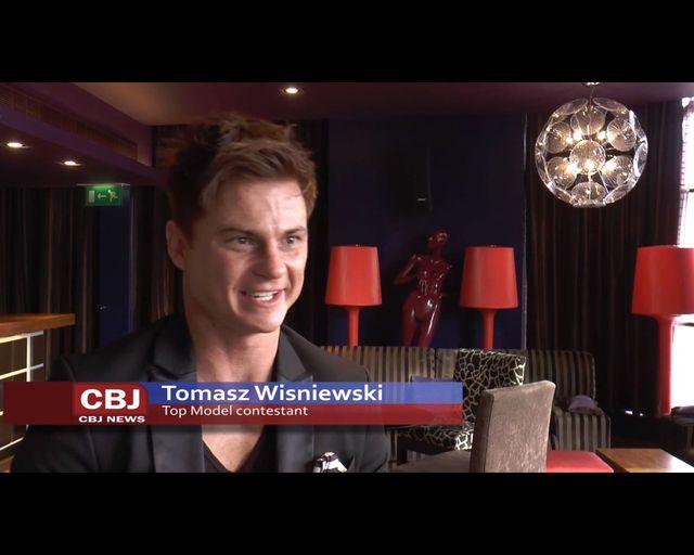 Polak Tomasz Wiśniewski w brytyjskiej wersji Top Model