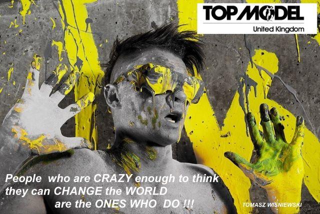 Polak Tomasz Wi�niewski w brytyjskiej wersji Top Model