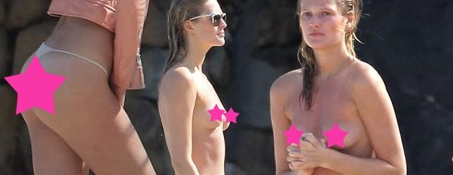 Toni Garrn – dziewczyna Leonardo DiCaprio topless (FOTO)