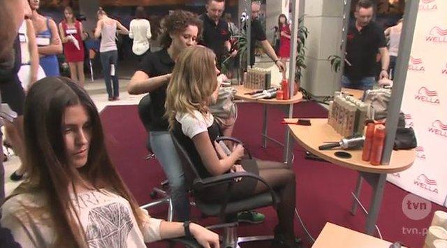 Kto pojawi� si� na warszawskim castingu do Top model?