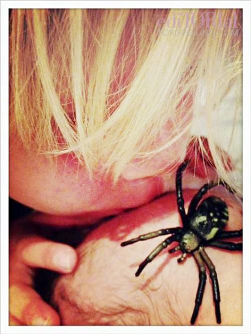 Synek Tori Spelling ma ksywkę Tarantula (FOTO)