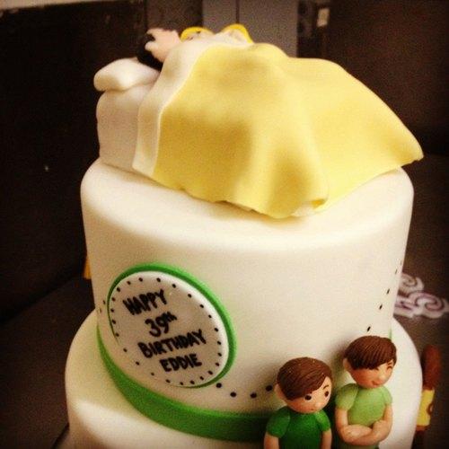 Tort z parą pod kołderką (FOTO)