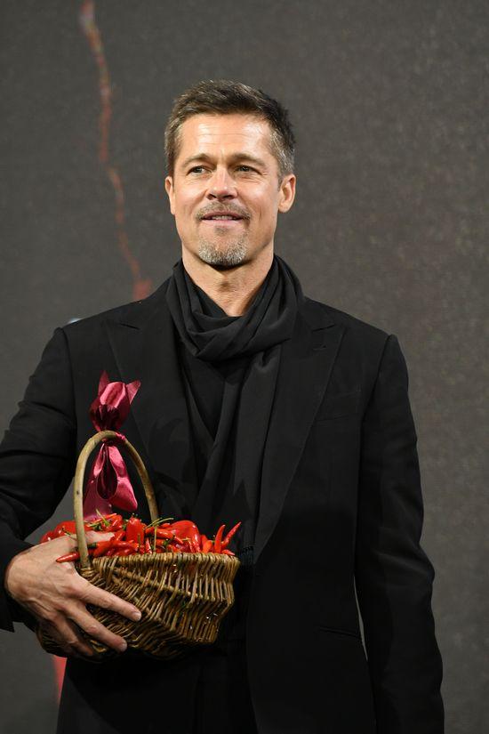 Brad Pitt nie mógł wyobrazić sobie lepszych świąt