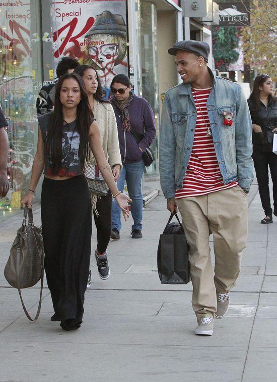 Karrueche Tran i Chris Brown mieszkają razem!