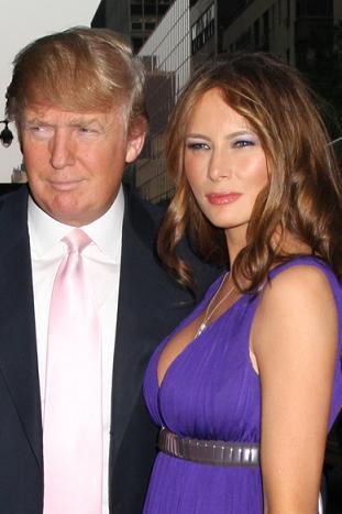 Donald Trump zostanie ojcem?