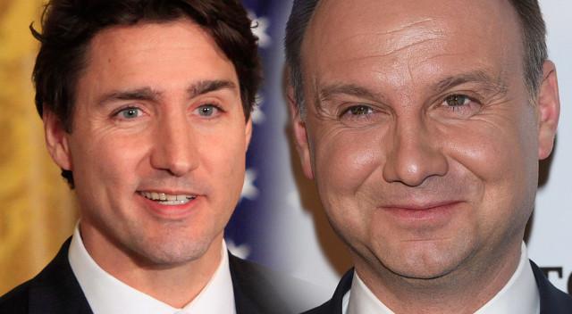 Seksowny premier Kanady złożył kobietom życzenia, te piszą, by je adoptował