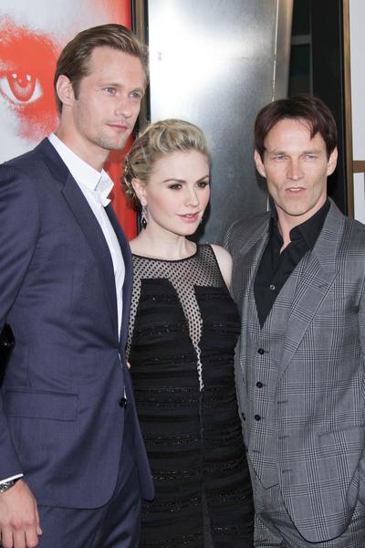 Premiera 5. sezonu True Blood (FOTO)/Alexander Skarsgard, Anna Paquin, Stephen Moyer