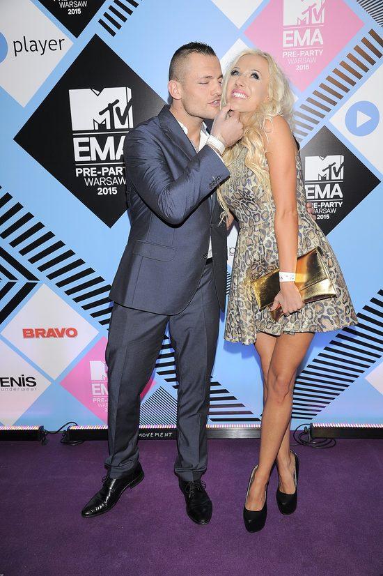 ROAR! Eliza z Trybsonem na ściance MTV VMA (FOTO)