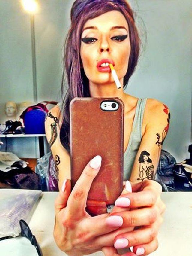 Agnieszka Włodarczyk jako Amy Winehouse (FOTO)