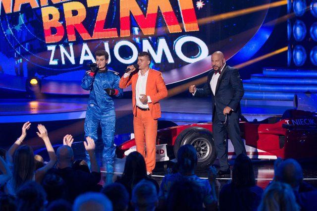 Zofia Zborowska jako Tomasz Niecik w Twoja Twarz...