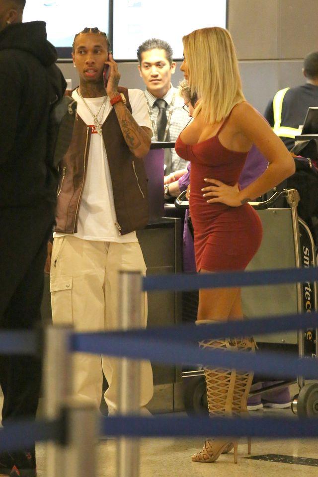 Kylie Jenner ma godną następczynię? Tyga poderwał BLONDYNKĘ (ZDJĘCIA)