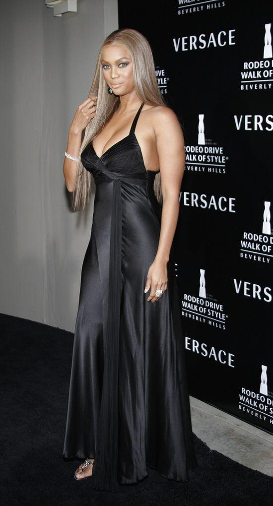 Tyra Banks: Nie wierzę w diety, przydałby mi się jakiś tyłek