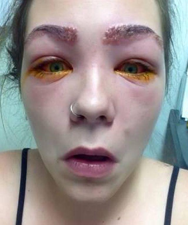Po użyciu bardzo popularnego kosmetyku stało się jej TO