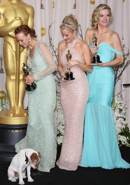 Zdechł Uggie - pierwszy pies zaproszony na Oscary