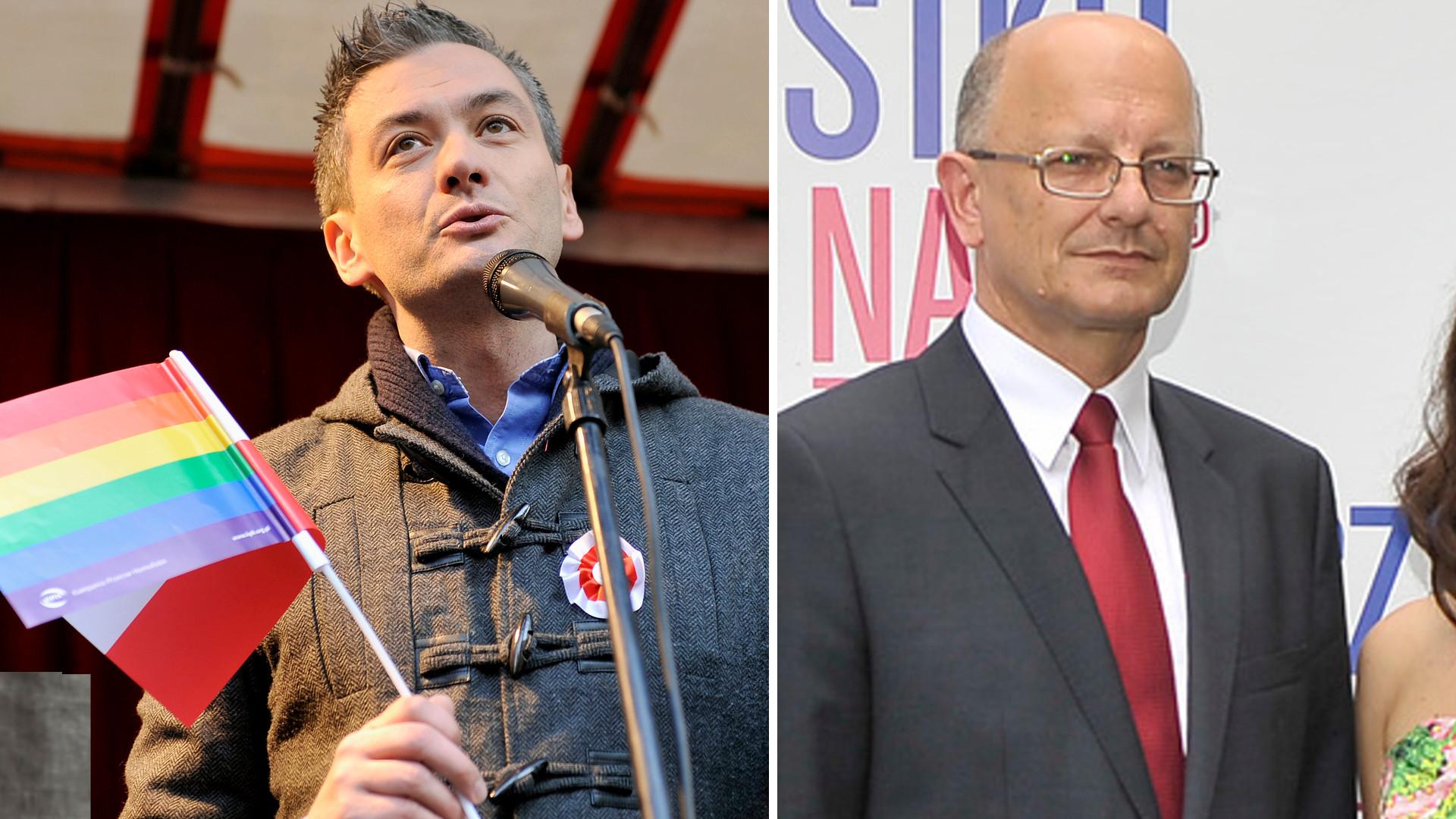 Robert Biedroń krytykuje prezydenta Lublina za zakaz marszu równości