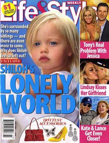 Shiloh jest nieszczęśliwa