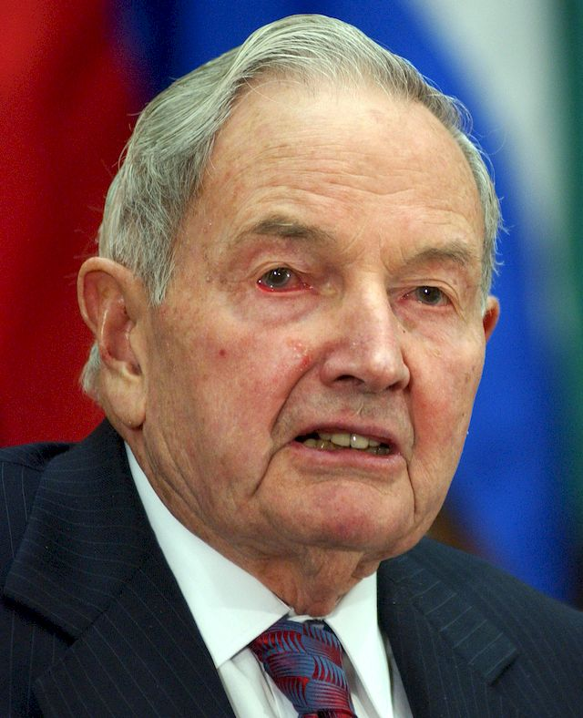 David Rockefeller nie żyje! Miał 101 lat