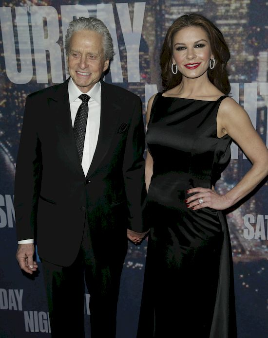 Catherine Zeta-Jones udost�pni�a urocze zdj�cie z Michaelem Douglasem