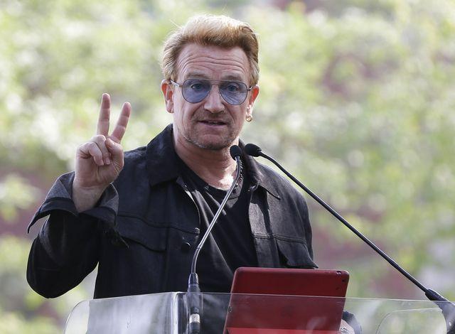Lider U2 Bono krytykuje Polskę i Węgry: Tam jest