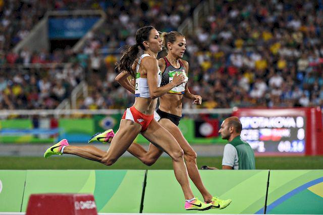 Rio 2016: Joanna J�wik o konkurentkach: Maj� testosteron zbli�ony do m�skiego