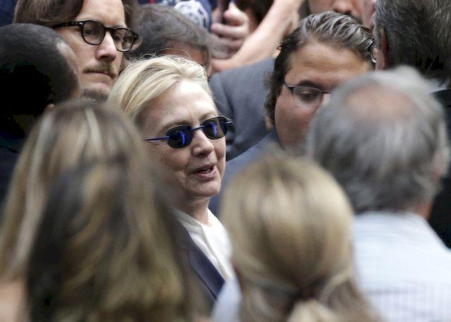 Czy choroba Hillary Clinton wykluczy j� z �ycia publicznego?